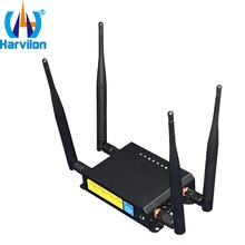 Industrial OpenWrt 12V 4 LAN Router LTE UMTS/WCDMA/HSPA WAN Best Wifi Router 3g 4g For Car/Home(China)