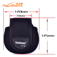 Trulinoya Brand Fishing Bag Baitcasting Reel Bags Fishing Tackle Bags for Bait Casting Reel Protect Case(China)