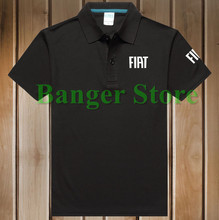 4 COLOURS Size S - 3XL Brand Women and men's Fiat car logo Polo Shirt Cotton Anti-pilling Short Sleeve shirt