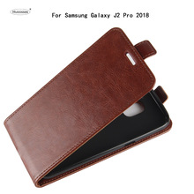 Buy HUDOSSEN Samsung Galaxy J2 Pro 2018 Luxury Flip Case PU Leather Back Cover Capa Samsung J250F Protective Phone Housing for $5.21 in AliExpress store