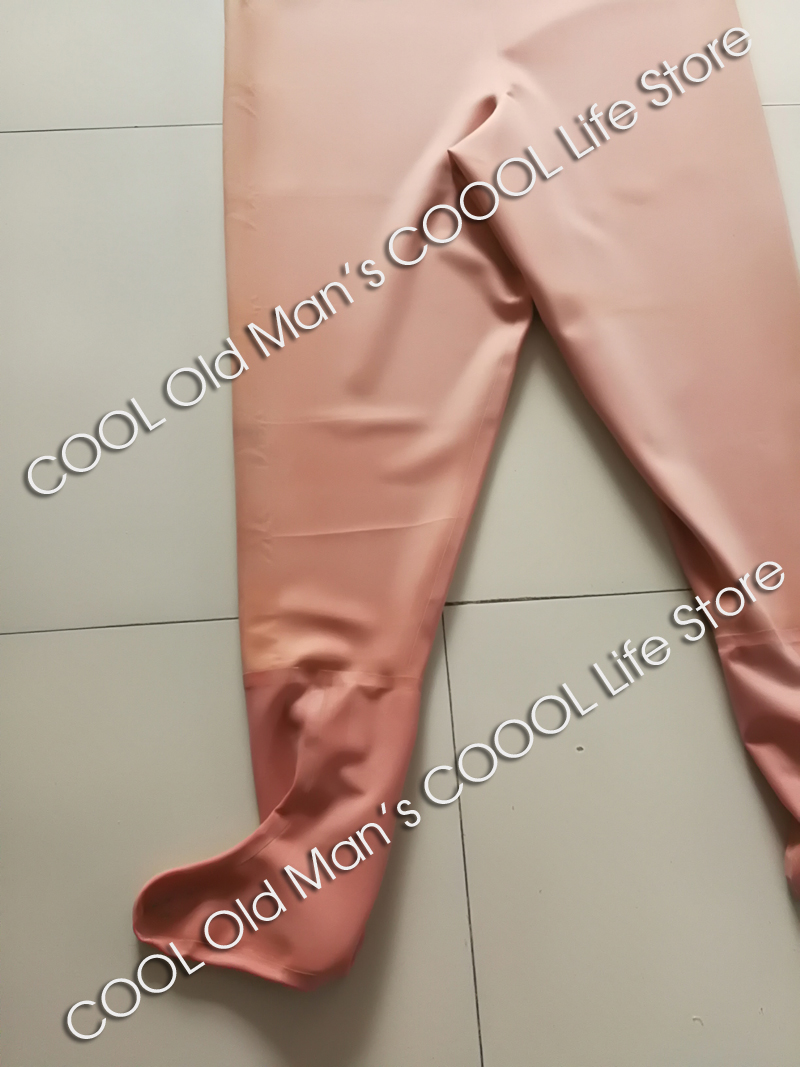 Thick Red Rubber Fishing Waders (Overalls) 12