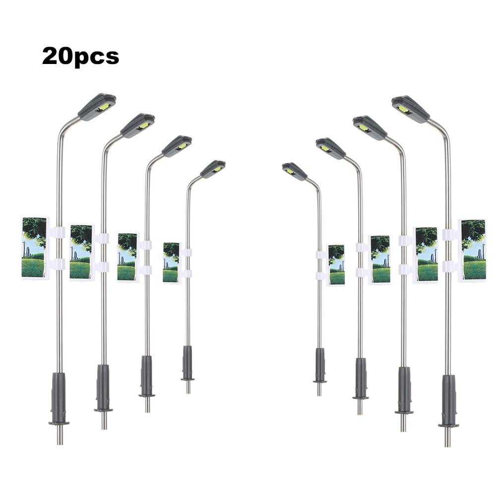 Lot 40 1:150 Scale LEDs Lights for Street Garden Train Building Landscape Accs