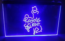 coors light Beer bar pub club 3d signs LED Neon Light Sign home decor crafts