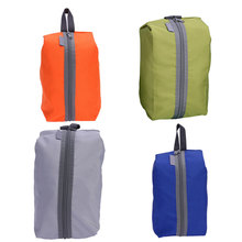 Waterproof Oxford Portable Storage Bag Outdoor Travel Washing Gargle Stuff Cosmetic Shoes Bag for Camping Hiking