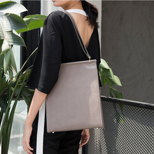 Viewinbox women shoulder bags famous brand high quality imported cowhide split leather women leather handbags black grey tote