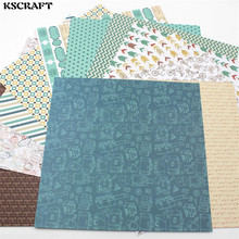 "KSCRAFT 12pcs 6"" Single-side Printed Travel Series pattern creative papercraft art paper handmade scrapbooking kit set books(China)"