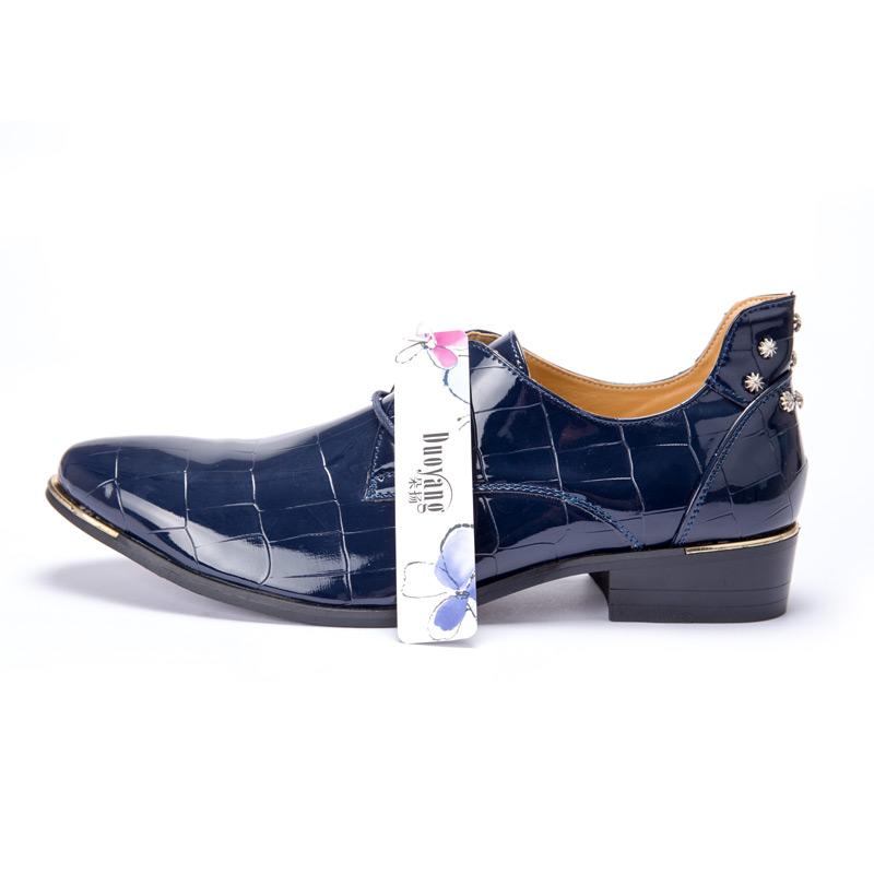 Men shoes 16 new fashion PU leather casual men shoes 13