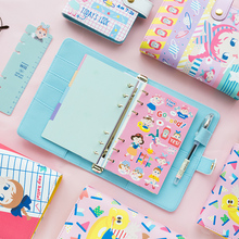 Jamie Notes Girly Spiral Notebook Diary Organizer Agenda A67 Planner With Accessories Kawaii Stationery Set Gift School Supplies