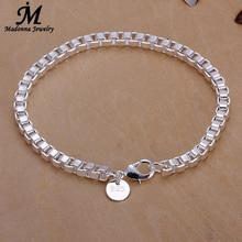 Fashion 5 Style Latest Men And Women Classy Design Silver Plated Chain Bracelet Lat Snake Punk Design
