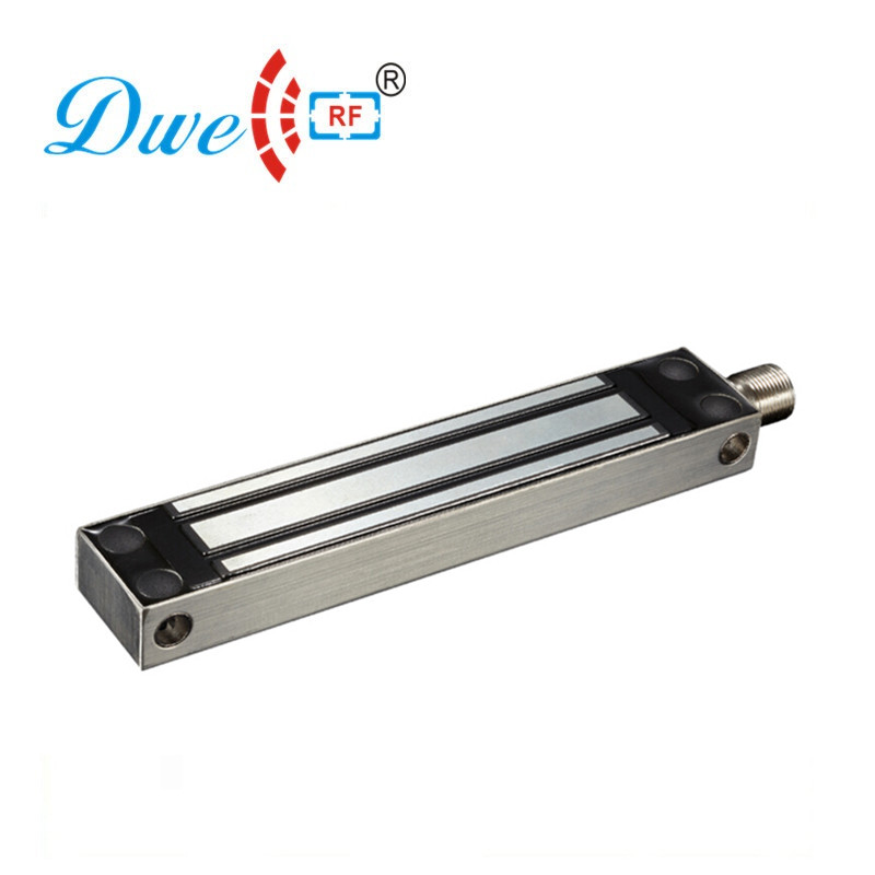 DWE CC RF Electric Lock 280KG 600Lbs Magnetic Lock Waterproof for Glass Door Access Control System DW-280FW                     <br>