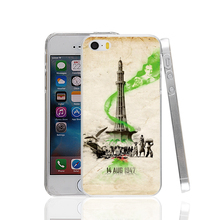 17715 pakistan flag 1947 hard transparent Cover Case for Apple iPhone 4 4S 5 5S 5C SE 6 6S Plus