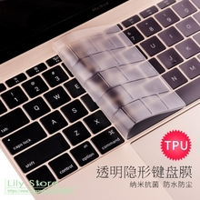 TPU Keyboard Cover Skin Protector For Apple macbook Air Pro with Retina 11 12 13 15 17 Touch Bar 13.3 15.4 2014 2015 2016 2017(China)