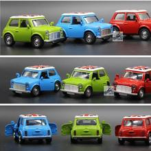 Mini Metal Model Car 1:36 Diecast Cars 1/36 Cooper Model Car Dinky Toys For Children Alloy City Vehicles Toy Brinquedos