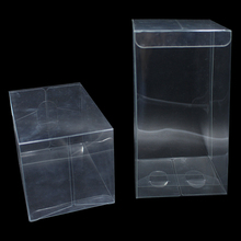 25pcs/Lot Clear Plastic Gift Packaging Boxes For DIY Craft Candy Chocolate Packing PVC Poly Party/Wedding Favor Package Box Case