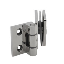 90 Degrees Stainless Steel 304 Wall Mount Glass Shower Door Hinge
