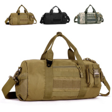 Hot Sale Men's Travel Large Capacity Waterproof Cylinder Bags Handbag Bag Army 88 LXX9(China)