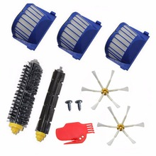 Filter Side Brush 6 armed kit for iRobot Roomba 500 600 Series 528 550 552 595 620 625 630 650 660 Vacuum Cleaner Parts(China)