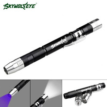 SKYWOLFEYE Mini Flashlight Medical Surgical Emergency Reusable Pocket Pen Light Torch for Working Camping(China)