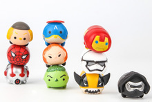 10pcs/1lot Tsum Avenger Spierman Ironman Star Wars Toys Action Figure Brinquedo Toy Kids Christmas Gift #1327 - Humble Online Shop store