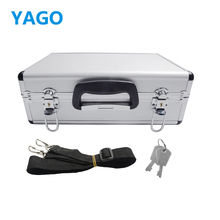 YAGO Aluminum Transmitter Box for Transmitter/Futaba Radio/Walkera Radio JR Radio HITEC,ESKY for Rc Toys Hard Case