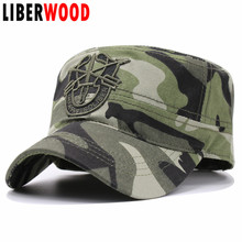 "United States US Army Special Forces flat top cap hats Arrow ""De Oppresso Liber"" Baseball Caps Hat To Liberate the Oppressed"