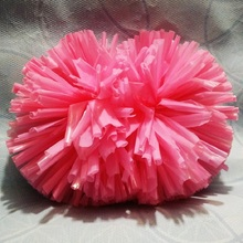 Game Cheerleader Cheerleading pom poms Cheerleading pompoms cheer pom majorettes hand flower aerobics balls,44 colors,4#,1-12pcs