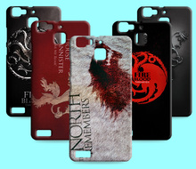 Ice and Fire Cover Relief Shell For Huawei Honor Enjoy 5 5S 6S Cool Game of Thrones Phone Cases For Huawei Enjoy 7 plus