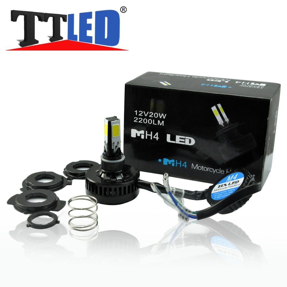 H4 H6 BA20D 20W 2200LM LED Motorcycle Scootor autobike autocycle Headlight Headlamp Light Lamp Bulb #LN40<br><br>Aliexpress