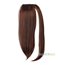 Free shipping 40cm Fashion Brown Extension Wig with Ponytail Hair (Brown) (NWG0HE61085-BN2)
