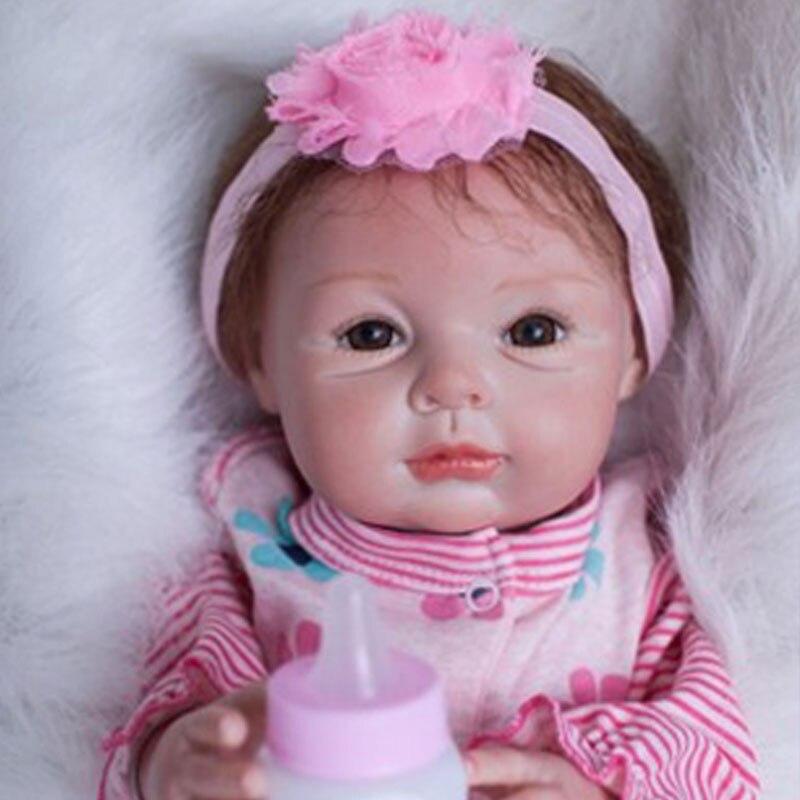 55cm Lovely Baby Doll Toys 22inch Silicone Reborn Dolls Bebe Reborn Menino Newborn Doll Toys Lifelike Reborn Babies Brinquedos<br><br>Aliexpress