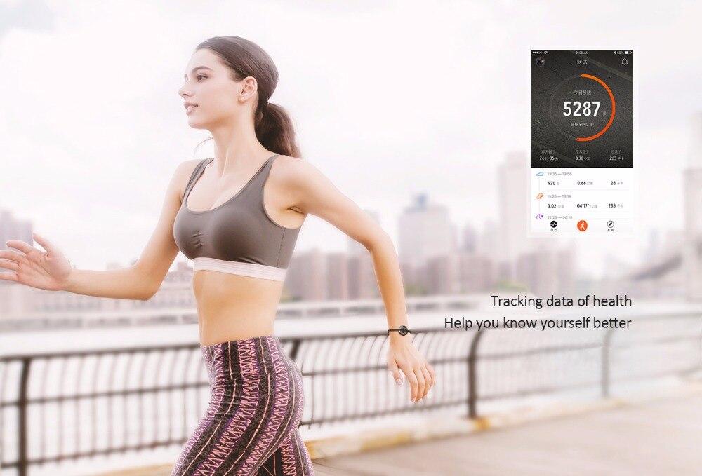 Xiaomi AMAZFIT Equator Smart Bracelet plus Mi band Sleep Calories Fitness Tracker Sport Fashion Ceramic Waterproof Band 4