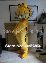 High quality Garfield mascot costume Christmas party carnival bizarre dress adult size free delivery