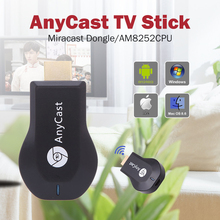 Anycast M2 plus Tv Stick 1080p Hdmi Miracast Hlna Airplay Wifi Display Chromecast Stick For Windows Ios Andriod Tablet Smart TV