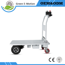 Construction site Electric folding trolley electric wheelbarrow garden cart cleaning trolley Flatbed transport truck Agriculture