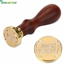 Exquisite Retro Christmas And Rose Sealing Wax Seal Stamp Head Brass Dia. 2.5CM Stamping Craft Gifts For Home Holiday Decoration