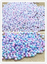 3/4/5/6/8/10mm Multi option Mixed Round Imitation Pearl  beads For Garment Bags shoes DIY accessories 028030010