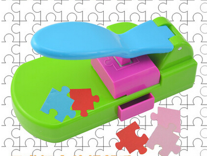 puzzle maker handcrafted toys, make the puzzles by yourself, craft punch / diy tools handy . puncher .puzzle<br>
