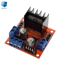 Special promotions 1pcs/lot L298N motor driver board module L298 for arduino stepper motor smart car robot(China)