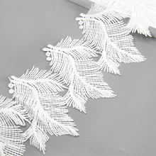 Buy David Accessories 13cm Embroidered Flower Leaf Lace Trim Ribbon 1 yards,DIY Garment Supply,Sewing Accessories, 1Y53886 for $1.08 in AliExpress store
