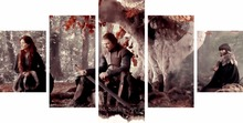 Wall pictures Game Of Thrones Painting warrior picture for Home Decor panel art canvas battlefield cheap modern paintings