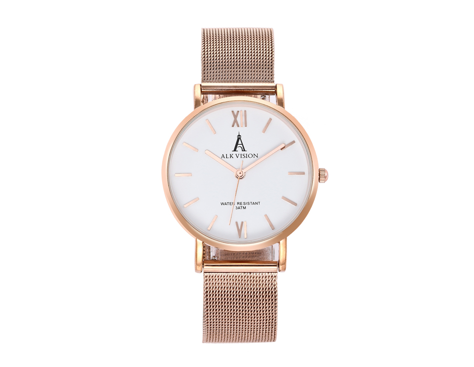 a0c4e4f21108 ALK lady watches 2018 luxury women ladies watch bracelet rose gold female  dress wrist watch brand quartz wristwatch dropshipping