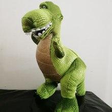 40 cm Toy Story 3 juguetes verde dinosaurio Rex suave felpa muñeca de  juguete Animal de peluche para niños regalo 00c85e865c4