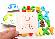 English Learn to Write Alphabet Set Toys(China)
