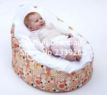 COVER ONLY, NO FILLINGS - high quality waterproof baby bean bag chair, beanbag outdoor seat(China)