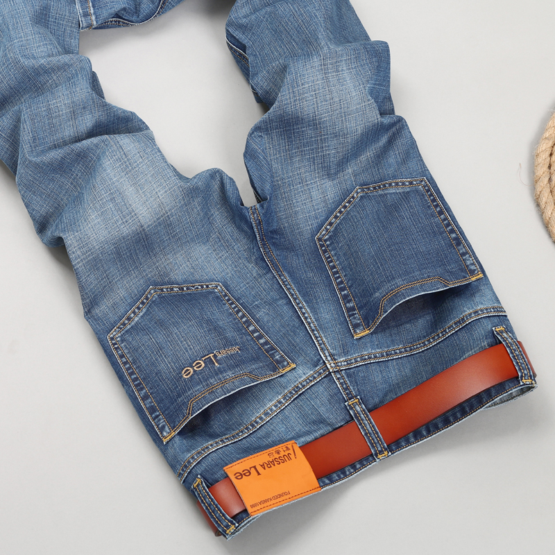 Mens Brand Jeans men 2017  Regular fit  jeans denim Biker jeans Causal pants Washed Blue jeans for menОдежда и ак�е��уары<br><br><br>Aliexpress