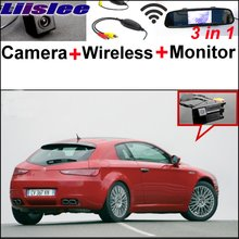 Liislee For Alfa Romeo Brera Spider Wireless Receiver + Mirror Monitor EASY Parking System 3 in1 Special WiFi Rear View Camera(China)