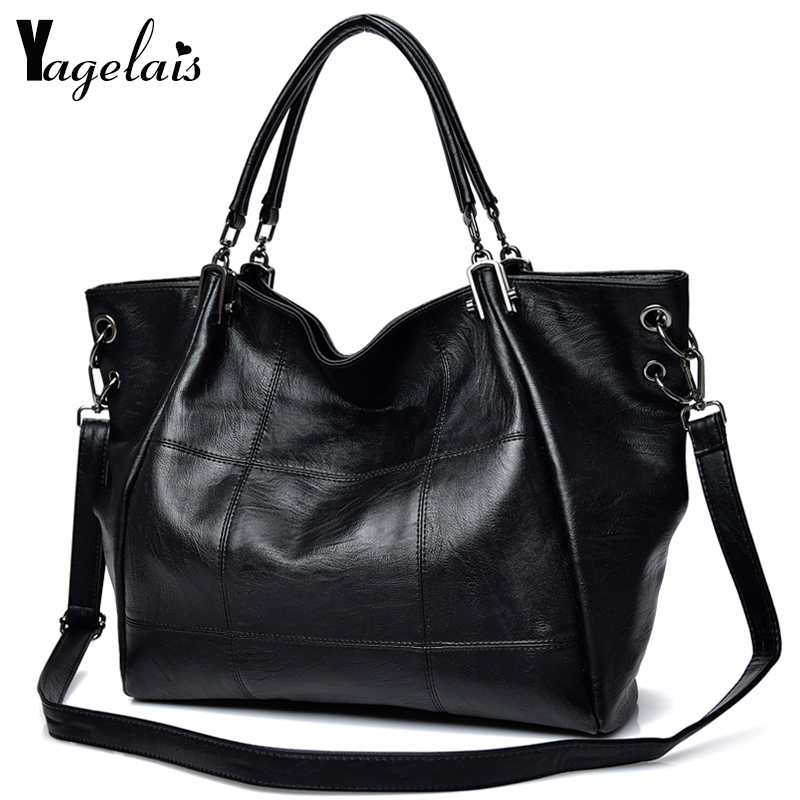 Large Capacity Women Clutch Leather Top-Handle Bag Ladies Single Shoulder Bags Crossbody Bags Soft Fashion Womens Handbags<br>