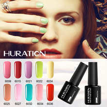Huraiton 24 Color One Step Gel Polish 3 In 1 Nail Gel Soak Off Polish Long Lasting LED UV Newest Nail Art Gel Varnish(China)