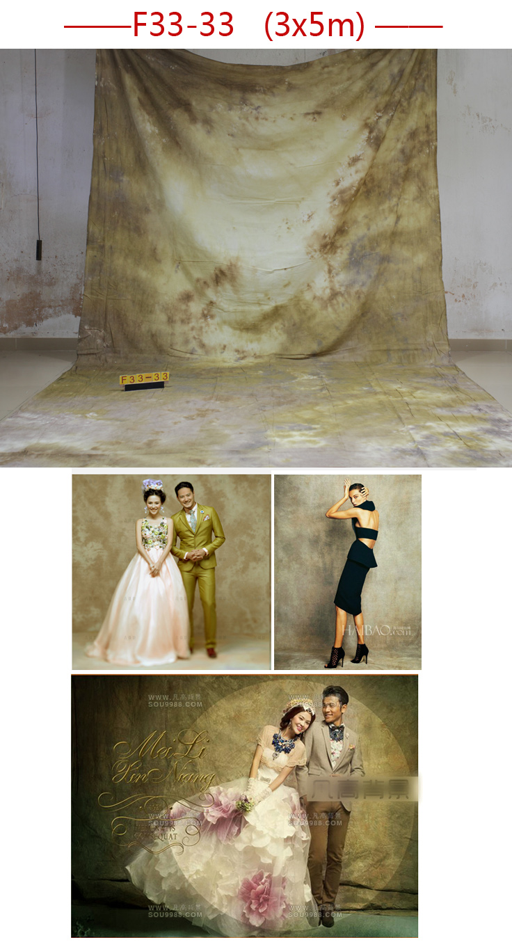 Professional 3m*5m Tye-Die Muslin wedding Backdrop F33-33,photography backgrounds for photo studio,wedding backdrops<br>