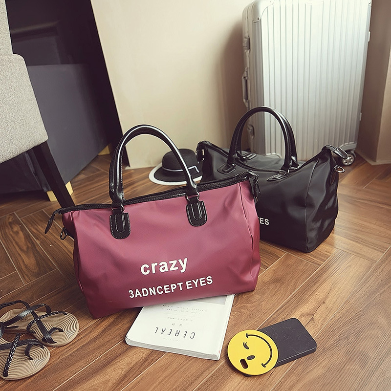 2017 new hot fashion women female casual letters printing middle travel bag Oxford handbags shoulder bags messenger bag<br><br>Aliexpress